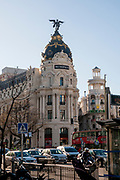 Spain, Madrid, Metropolis Building, on calle de Alcala