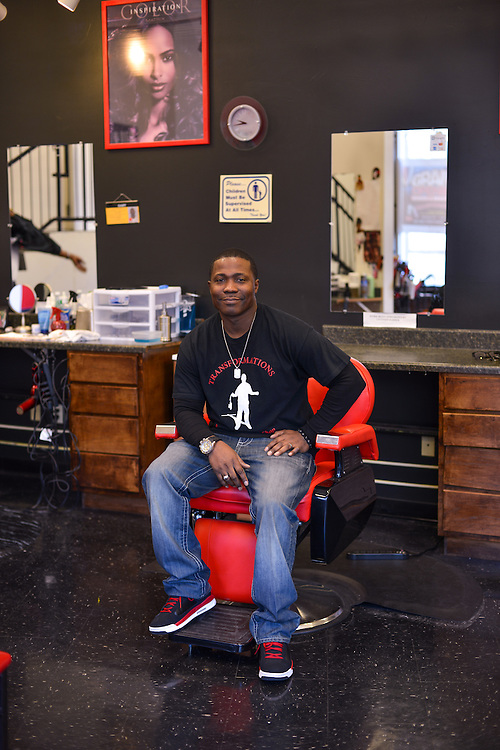 Owner of Transformations Barber and Beauty Salon.