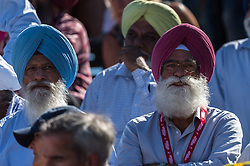 supporters of India during the Champions Trophy finale between the Australia and India on the fields of BH&BC Breda on Juli 1, 2018 in Breda, the Netherlands.