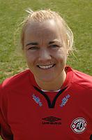 Portretter Toppserien 2006<br /> <br /> Henriette Lund - Arna Bjørnar