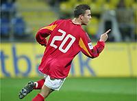Fotball , mars 2005, Slovenia - Tyskland, 0:1 Tor von Lukas PODOLSKI