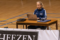 Rianne Verhoek in action during the league match between Active Living Orion vs. Amysoft Lycurgus on March 20, 2021 in Doetinchem.