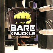 FORT LAUDERDALE, FL - FEBRUARY 15: The ring is seen during the Bare Knuckle Fighting Championships at Greater Fort Lauderdale Convention Center on February 15, 2020 in Fort Lauderdale, Florida. (Photo by Alex Menendez/Getty Images) *** Local Caption ***