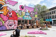 Downtown - St-Laurent & Murals