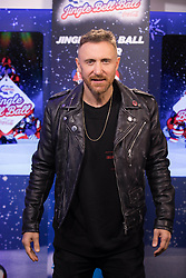 David Guetta during day one of Capital's Jingle Bell Ball with Coca-Cola at London's O2 Arena.