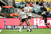 Pepesana Patafilo celebrates his try. Waratahs v Hurricanes. 2021 Super Rugby Trans Tasman Round 1 Match. Played at Sydney Cricket Ground on Friday 14 May 2021. Photo Clay Cross / photosport.nz