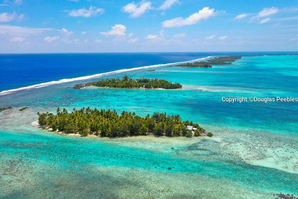 Motu , Tahaa, Society Islands, French Polynesia; South Pacific
