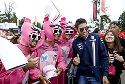 September 2, 2018 - Monza, Italy - Motorsports: FIA Formula One World Championship 2018, Grand Prix of Italy, ..#31 Esteban Ocon (FRA, Racing Point Force India F1 Team) (Credit Image: © Hoch Zwei via ZUMA Wire)