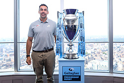 Alex Sanderson of Saracens at the launch of the 2018/19 Gallagher Premiership Rugby Season Fixtures - Mandatory by-line: Robbie Stephenson/JMP - 06/07/2018 - RUGBY - BT Tower - London, England - Gallagher Premiership Rugby Fixture Launch