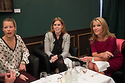 INDIA LANGTON; PRINCESS BEATRICE OF YORK; GEORGIA DAVENTRY, Lunch at the Ivy Club pop up-restaurant during the preview of Masterpiece Art Fair. Co-hosted by  Count & Countess Filippo Guerrini-Maraldi, and Lord<br /> Dick Daventry. 26 June 2013