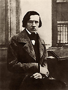 Frederic Chopin (1810-1849) Polish composer and pianist. Music Musician