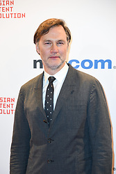 David Morrissey poses as arriving for the opening ceremony of the MIPCOM in Cannes - Marche international des contenus audiovisuels du 16-19 Octobre 2017, Palais des Festivals, Cannes, France.<br />Exhibition MIPCOM (International Market of Communications Programmes) at Palais des Festivals et des Congres, Cannes (Photo by Lionel Urman/Sipa USA)