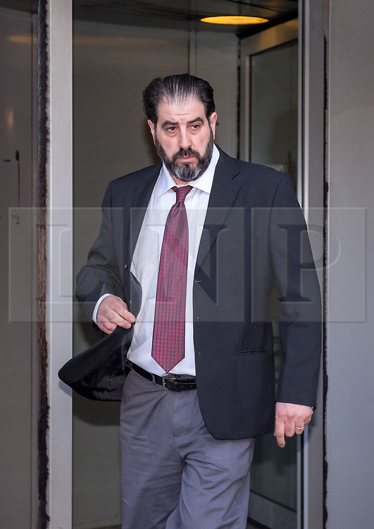© Licensed to London News Pictures. 02/11/2018. Bristol, UK. ROBERT LOPRESTI leaves Bristol Crown Court on the first day of legal proceedings, charged with offences relating to modern slavery. Avon and Somerset Police have charged Salvatore 'Sam' Lopresti, 74, and Robert Lopresti, 45, with requiring a person to perform forced labour. Sam Lopresti was also charged with assault occasioning actual bodily harm.<br /> The family have run an ice cream business in the Bristol area for over 50 years. Photo credit: Simon Chapman/LNP