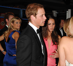 HRH PRINCE WILLIAM and KATE MIDDLETON at the 2008 Boodles Boxing Ball in aid of the charity Starlight held at the Royal Lancaster Hotel, London on 7th June 2008.<br /> <br /> NON EXCLUSIVE - WORLD RIGHTS