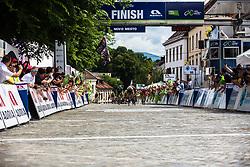 Giacomo Nizzolo (ITA) of Team Dimension Data finishing 5th Stage of 26th Tour of Slovenia 2019 cycling race between Trebnje and Novo mesto (167,5 km), on June 23, 2019 in Slovenia. Photo by Peter Podobnik / Sportida