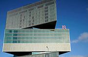 Nederland, Amsterdam, 12-12-2019Hotel,nhow,nhow-hotels bij het station Rai, gebouwd onder architectuur van OMA architecten.FOTO: FLIP FRANSSEN