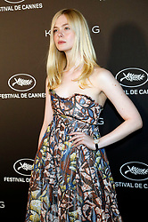 May 19, 2019 - Cannes, Alpes-Maritimes, Frankreich - Elle Fanning at the Kering and Cannes Film Festival Official Dinner during the 72nd Cannes Film Festival at Place de la Castre on May 19, 2019 in Cannes, France (Credit Image: © Future-Image via ZUMA Press)