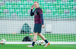 Wayne Rooney during practice session of England National Football Team 1 day before Euro 2016 Qualifications match against Slovenia, on June 13, 2015 in SRC Stozice, Ljubljana, Slovenia. Photo by Vid Ponikvar / Sportida