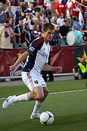 August 4, 2012: Real Salt Lake forward Justin Braun (13) in the first half against the Colorado Rapids at Dick's Sporting Goods Park in Denver, Colorado.