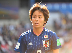 I Iwabuchi during the FIFA Women's World Cup group D first round soccer match between Argentina and Japan at Parc des Princes Stadium in Paris, France on June 10, 2019. The FIFA Women's World Cup France 2019 will take place in France from 7 June until 7 July 2019. Photo by Christian Liewig/ABACAPRESS.COM