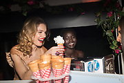 NATALIA VODIANOVA, ADUL AKECH, Natalia Vodianova, Naked Heart Foundation and LUISAVIAROMA, host the Fabulous Fund Fair, Roundhouse, Camden. London. 18 February 2019
