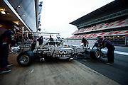February 19-22, 2015: Formula 1 Pre-season testing Barcelona : Daniil Kvyat, (RUS), Red Bull-Renault