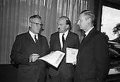 1967 - Henry Weldon of Boston investing in Gael-Linn bonds at the Intercontinental Hotel