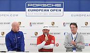 Porsche European Open 2015 Media Interviews