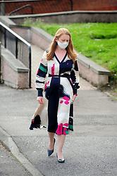Lochgelly High School Exam results<br /> <br /> Shirley-Anne Somerville arrives at Lochgelly High school<br /> <br /> (c) David Wardle | Edinburgh Elite media
