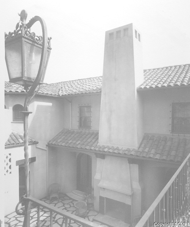 1925 Patio at 1847 Camino Palmero.