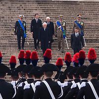 Insediamento del nuovo Presidente della Repubblica Sergio Mattarella