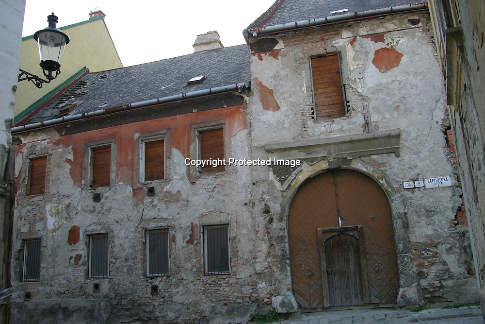 desolated farmhouse in Bratislava, Slovakia