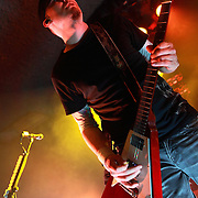 """Theory of a Deadman performs on January 22, 2012 in support of """"The Truth Is..."""" at the Showbox Market, Seattle, Washington"""