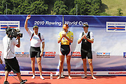 Lucerne, Switzerland.  2010 FISA World Cup. Lake Rotsee, Lucerne.  13:57:58   Sunday  11/07/2010.  [Mandatory Credit Peter Spurrier/ Intersport Images]