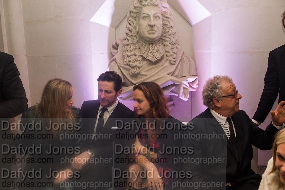 ANGHARAD WOOD; JEREMY THOMAS, Luminous -Celebrating British Film and British Film Talent,  BFI gala dinner & auction. Guildhall. City of London. 6 October 2015.