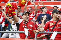 September 1, 2018 - Monza, Italy - Motorsports: FIA Formula One World Championship 2018, Grand Prix of Italy, .Fans  (Credit Image: © Hoch Zwei via ZUMA Wire)