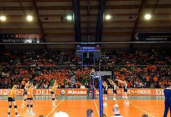 11-11-2007 VOLLEYBAL: PRE OKT: NEDERLAND - AZERBEIDZJAN: EINDHOVEN<br /> Nederland wint ook de de laatste wedstrijd. Azerbeidzjan verloor met 3-1 / Indoor Sport Centrum<br /> ©2007-WWW.FOTOHOOGENDOORN.NL