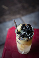 A glass of Che, a sweet traditional Vietnamese drink, Hanoi, Vietnam, Southeast Asia