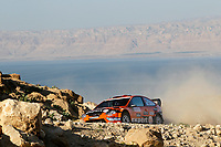 MOTORSPORT - WRC 2010 - JORDAN RALLY - 31/03 TO 03/04/2010 - DEAD SEA (JOR) - PHOTO : FRANCOIS BAUDIN / DPPI - <br /> HENNING SOLBERG (NOR) / ILKA MINOR (AUT) - STOBART MOTORSPORT - FORD FOCUS WRC - ACTION