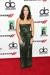 21.10.2013, Beverly Hilton Hotel, Beverly Hills, USA, Annual Hollywood Film Awards Gala, im Bild Olivia Munn // Olivia Munn during a photoshooting for the 17th Annual Hollywood Film Awards Gala held at the Beverly Hilton Hotel in Beverly Hills, United States on 2013/10/23. EXPA Pictures © 2013, PhotoCredit: EXPA/ Photoshot/ Photoshot/ Izumi Hasegawa<br /> <br /> *****ATTENTION - for AUT, SLO, CRO, SRB, BIH, MAZ only*****