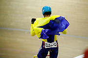 Men Scratch Race, Roman Gladys (Ukraine), during the UEC Track Cycling European Championships Glasgow 2018, at Sir Chris Hoy Velodrome, in Glasgow, Great Britain, Day 2, on August 3, 2018 - Photo Luca Bettini / BettiniPhoto / ProSportsImages / DPPI - Belgium out, Spain out, Italy out, Netherlands out -