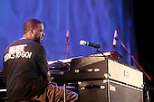 Robert Glasper Experiment performance held at Damrosch Park at Lincoln Center on August 4, 2010
