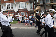 Bexhill Town carnival procession. Bexhill on Sea. 30 July 2016