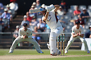 Northants Steelbacks Niel Buck  during the Specsavers County Champ Div 2 match between Lancashire County Cricket Club and Northamptonshire County Cricket Club at the Emirates, Old Trafford, Manchester, United Kingdom on 14 May 2019.