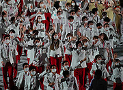 Japan during the Opening Ceremony of the Tokyo 2020 Olympic Games. Tuesday 27th July 2021. Mandatory credit: © John Cowpland / www.photosport.nz