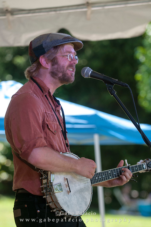 Old Man Luedecke performing at the American Roots Music Festival at Caramoor in Katonah New York.photo by Gabe Palacio
