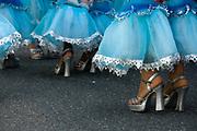 Hackney carnival dancers.