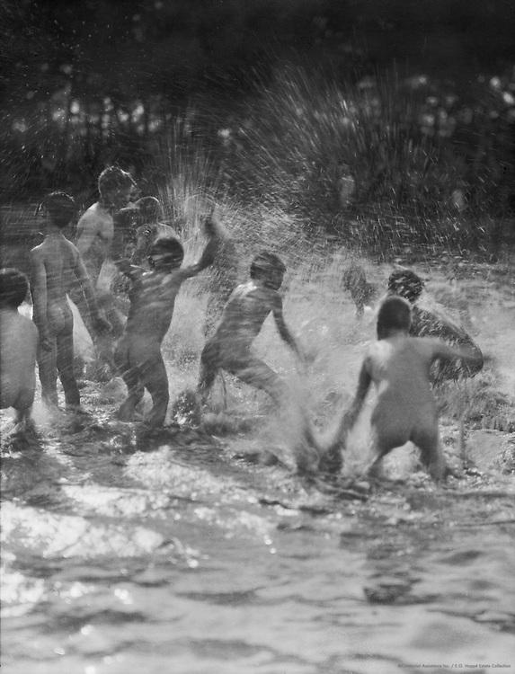 Children Bathing, 1922