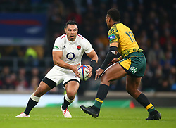November 24, 2018 - London, England, United Kingdom - London, UK, 24 November, 2018.Ben Te'o of England .during Quilter International between England  and Australia at Twickenham stadium , London, England on 24 Nov 2018. (Credit Image: © Action Foto Sport/NurPhoto via ZUMA Press)