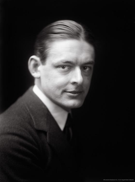 T.S. Eliot, English Author, Poet, Critic and Nobel Laureate, 1919